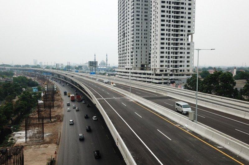 Tol Jakarta-Cikampek Elevated telah ditutup terkait pelarangan mudik