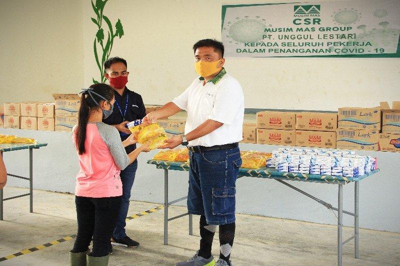 PT Unggul Lestari berikan bantuan untuk karyawan hadapi pandemi COVID-19