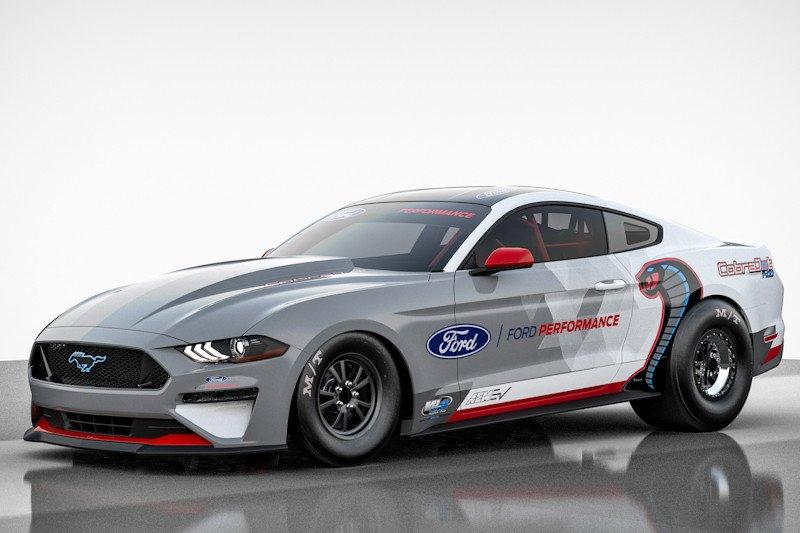 Ford perkenalkan mobil sport listrik Mustang Cobra Jet 1400