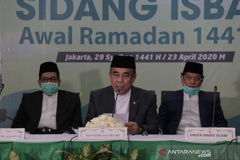 Kemenag gelar sidang isbat Idul Fitri pada 22 Mei