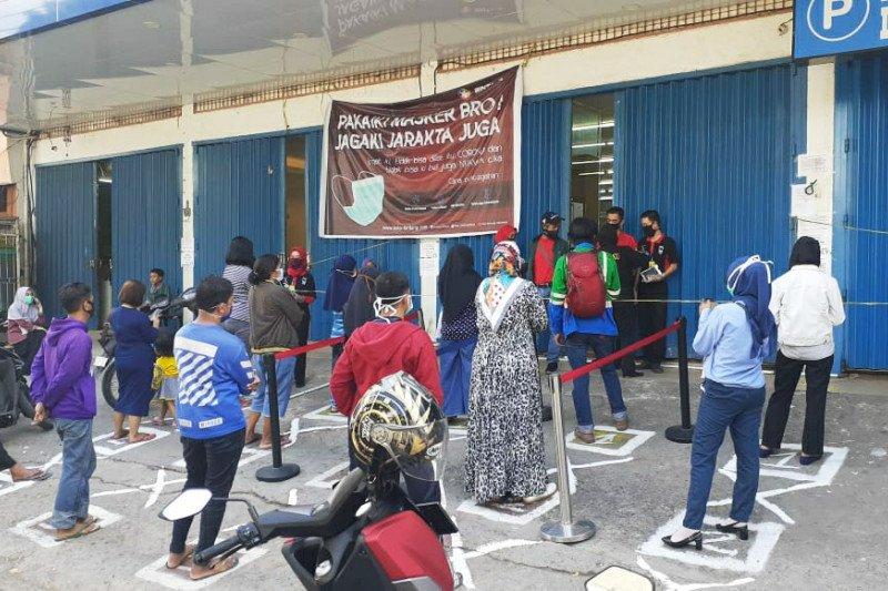 Pemberlakuan PSBB di Makassar, toko nonsembako ditutup paksa