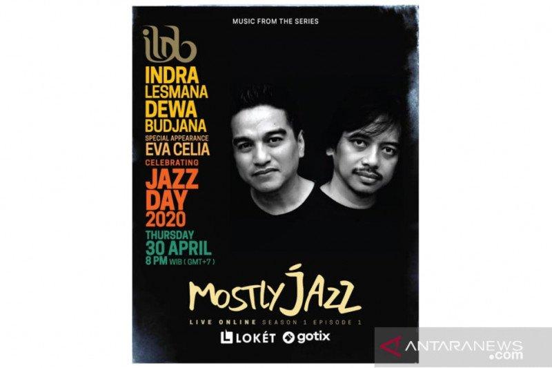 Duo musisi jazz Indra Lesmana & Dewa Budjana gelar konser virtual