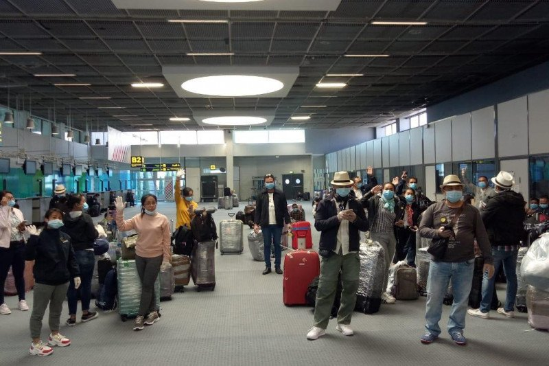 225 ABK Indonesia di Marseille pulang ke tanah air