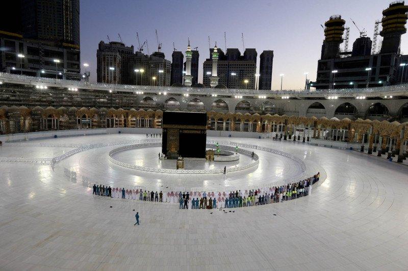 1.325 kasus tambahan virus corona di Arab Saudi