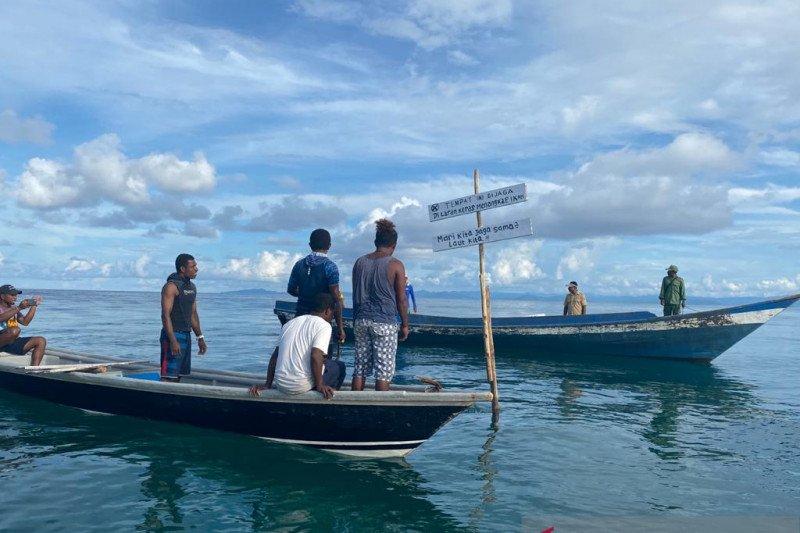 Warga Yenbuba Raja Ampat larang penangkapan ikan di kawasan wisata menyelam