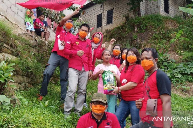 PDI Perjuangan Kaltara terus memberikan bantuan kepada warga