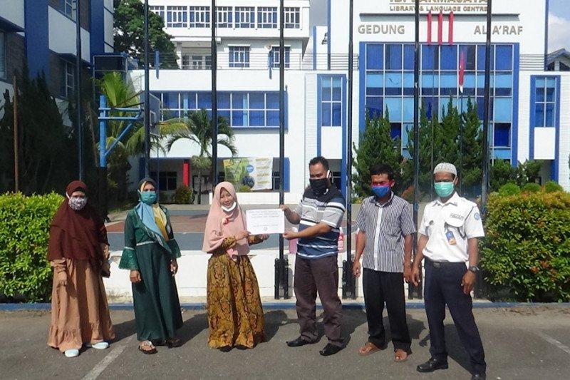 LP4M IIB Darmajaya bantu UMKM Desa Binaan cegah COVID-19