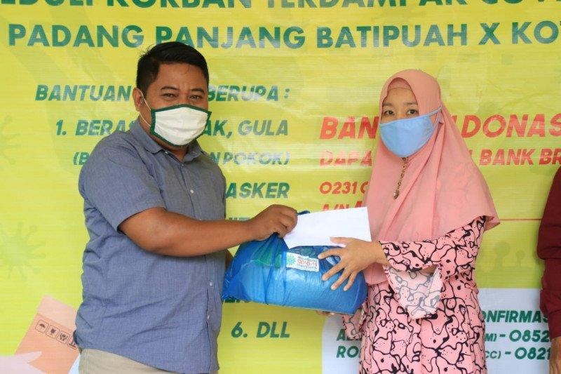 Muhammadiyah COVID-19 Command Center salurkan bantuan untuk warga Pabasko