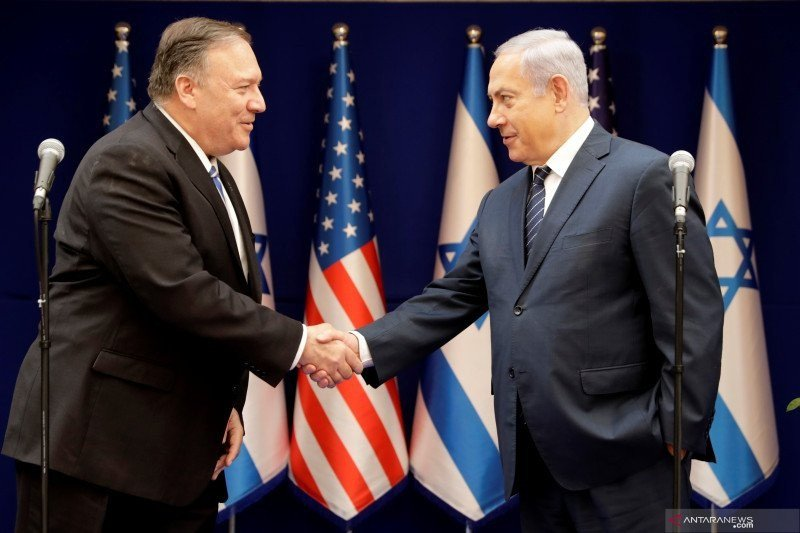 Menlu AS: aneksasi Palestina keputusan Israel