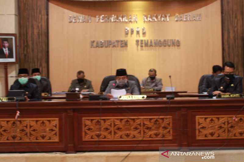 DPRD Kabupaten Temanggung menilai penataan kota belum berjalan baik