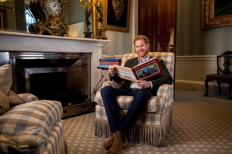 Pangeran Harry turut merayakan ulang tahun 'Thomas and Friends'