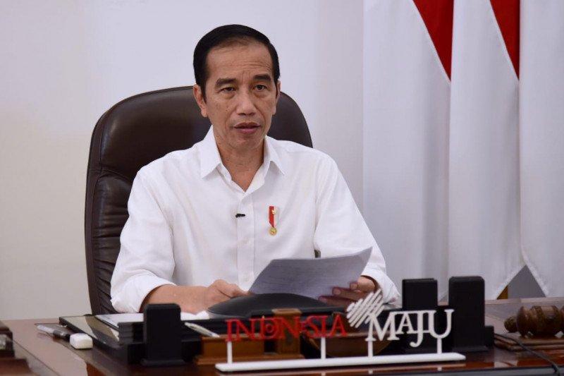 Presiden Jokowi janji lindungi buruh agar tetap berpenghasilan saat pandemi