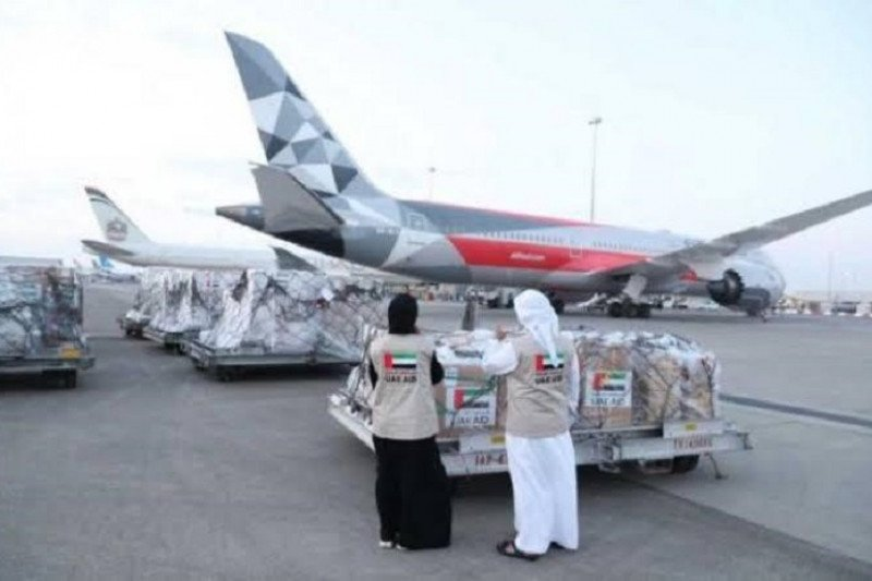 UEA kirim bantuan APD 20 ton, Indonesia balas dengan buah dan sayur