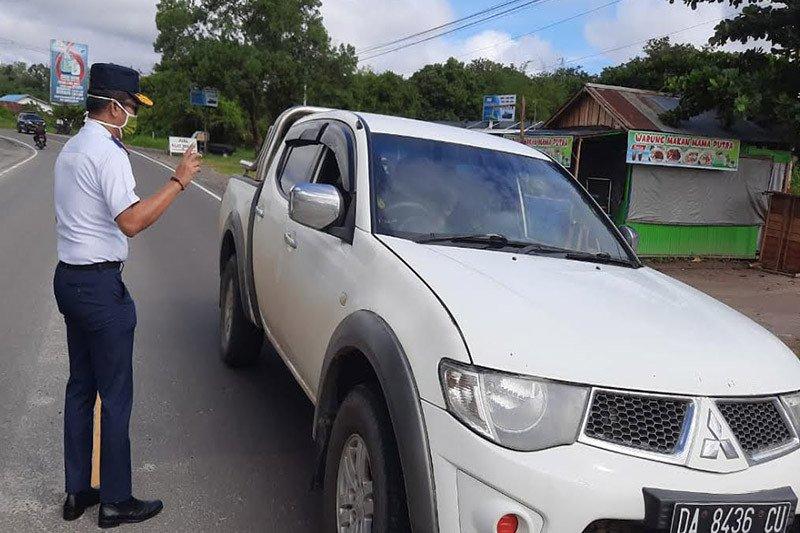 Dishub Kota Palangka Raya larang 'travel gelap' masuk dalam kota