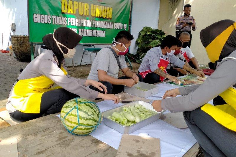 Polres Banjarnegara mengajak warga asimilasi ikut bakti sosial
