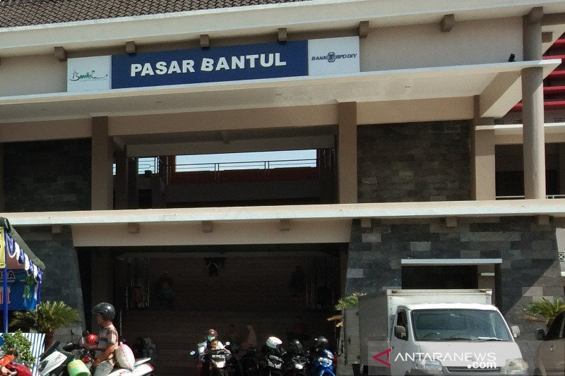 Pedagang pasar rakyat Bantul bebas retribusi satu bulan