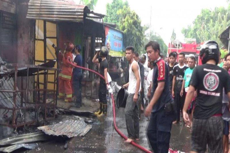 Empat ruko warga di Batang Jateng terbakar, kerugian ratusan juta
