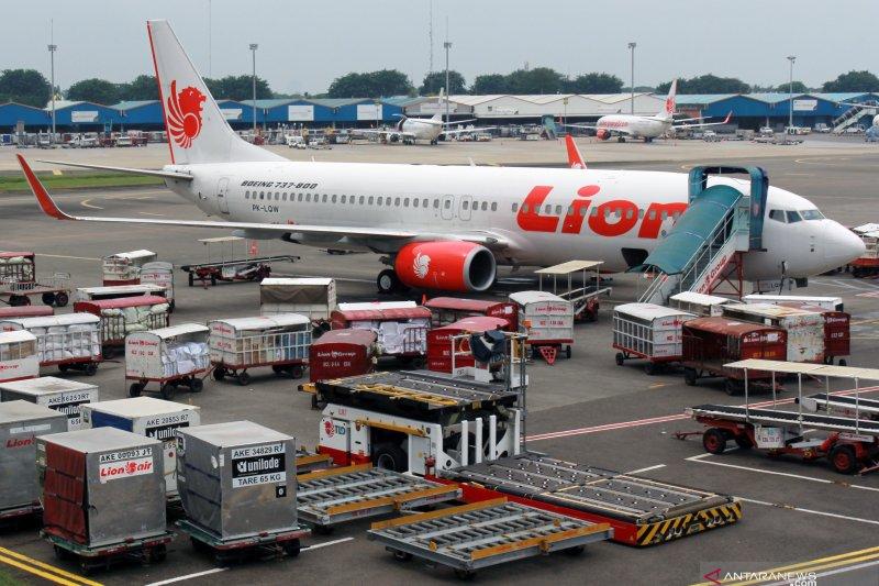 Lion Air Group hentikan operasional penerbangan untuk sementara