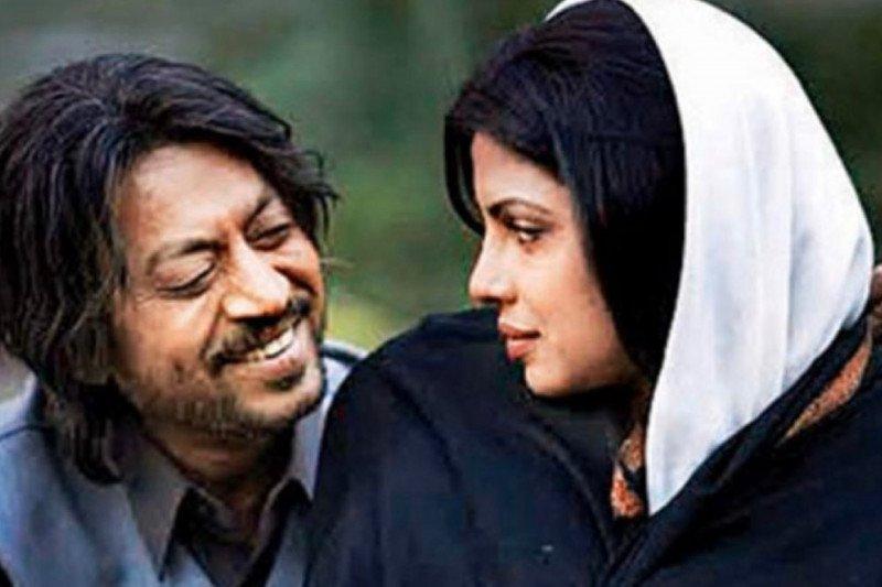 Aktor Bollywood Irrfan Khan meninggal,  Shah Rukh Khan dan Priyanka Chopra unggah dalam kenangan