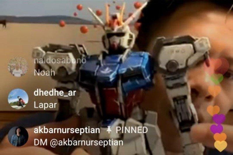 Ariel Noah dapat kepuasan baru saat merakit Gundam