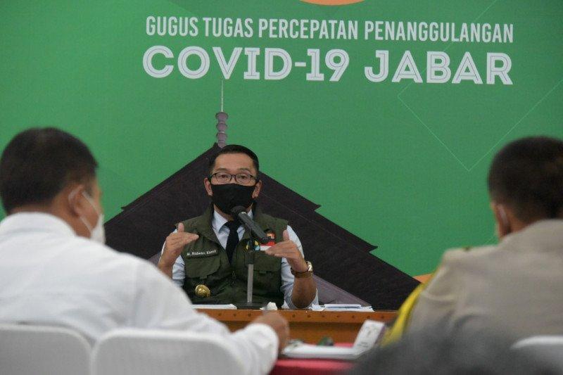 Gubernur: Jawa Barat  nol kasus positif COVID-19 pada Jumat