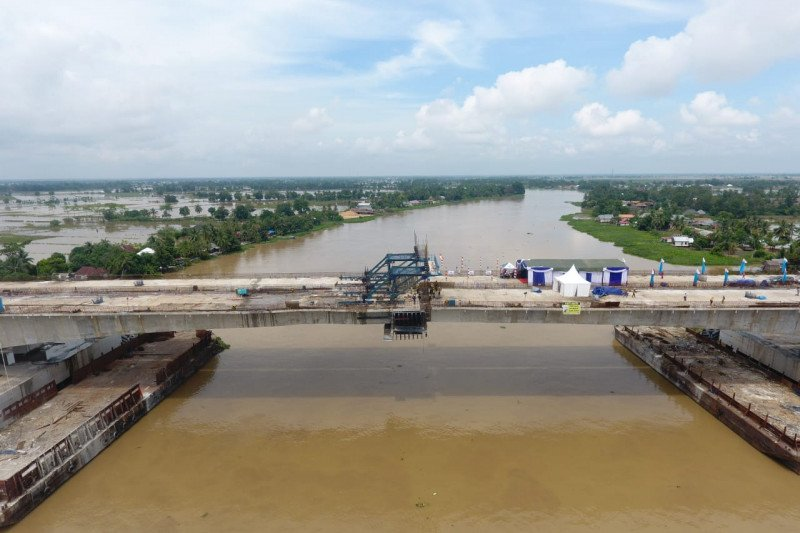 Waskita Sriwijaya Tol rampungkan pembangunan Jembatan Ogan