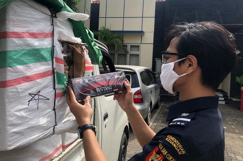 Bea Cukai Jateng-DIY selamatkan Rp7,29 miliar dari peredaran rokok ilegal