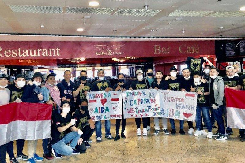 239  WNI kru Kapal AIDA Cruises kembali ke Indonesia dari Jerman