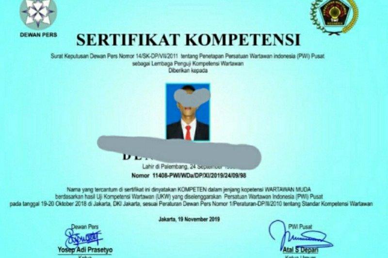 Waspada, sertifikat UKW palsu beredar