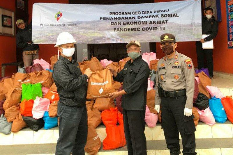Geo Dipa Dieng salurkan bantuan pangan dalam rangka Ramadhan