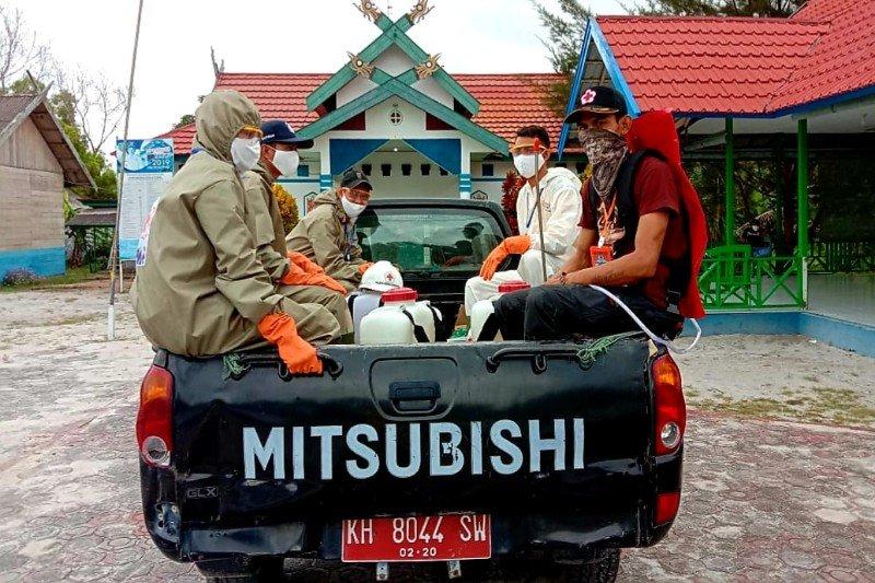 Relawan bantu pencegahan penyebaran COVID-19 di Sukamara