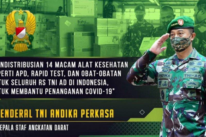 KASAD instruksikan Puskesad bantu alkes ke-69 rumah sakit AD di Indonesia