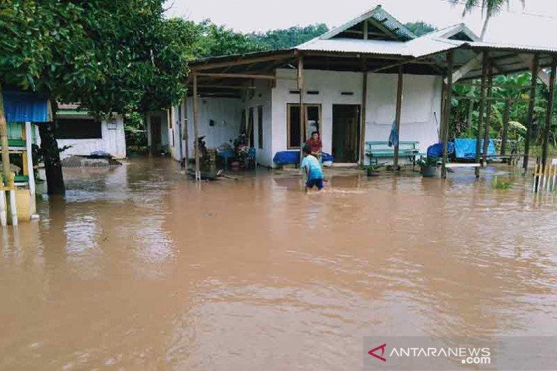 Puluhan rumah pemukiman warga di Morowali Utara terendam banjir