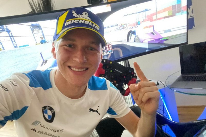 Maximilian Guenther kembali juara di seri kedua balap virtual Formula E