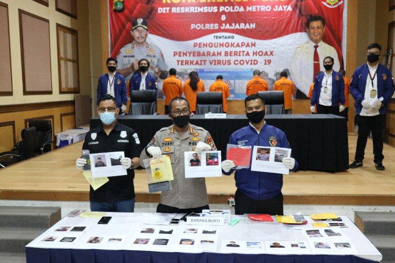 Terdeteksi sebarkan hoaks, 218 akun medsos diajukan diblokir ke Kemenkominfo
