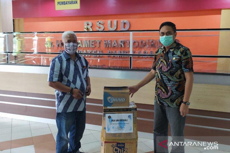 Universitas Brawijaya Malang bantu APD RSUD Pamekasan