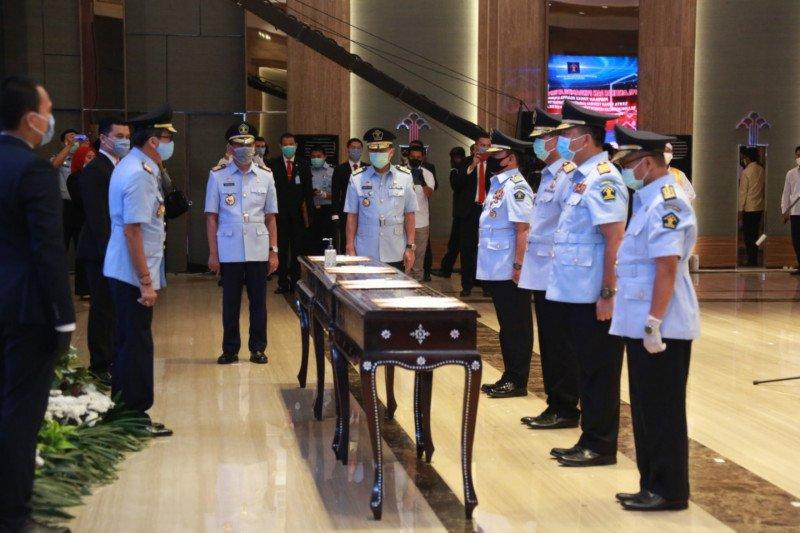 Jhoni Ginting resmi dilantik sebagai Dirjen Imigrasi
