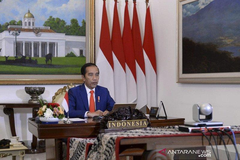 Presiden Jokowi :  Kita beruntung sejak awal memilih kebijakan PSBB atasi COVID-19