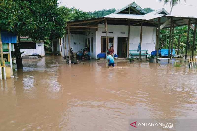 Ketinggian banjir di Morowali Utara Sulteng mulai surut