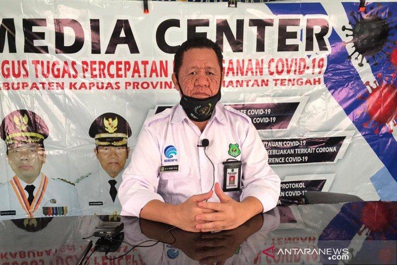 Kasus positif COVID-19 di Kabupaten Kapuas kembali bertambah empat orang