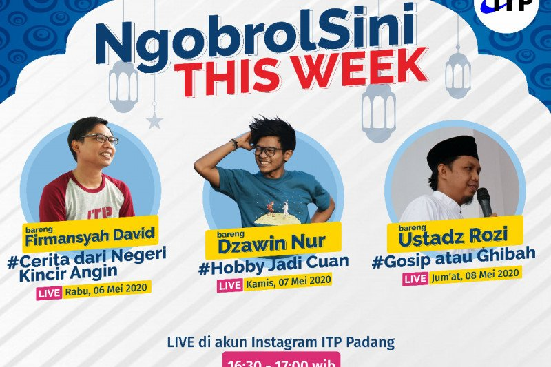 "Ngulik pendidikan di luar negeri, simak ""cerita dari negeri kincir angin"" di live instagram ITP Padang"