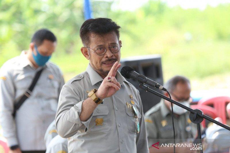 Menteri Pertanian dorong mekanisasi pertanian untuk percepat masa tanam