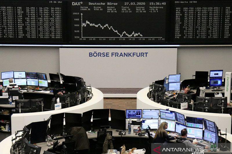 Saham Jerman ditutup menguat, indeks DAX 30 terkerek 0,10 persen