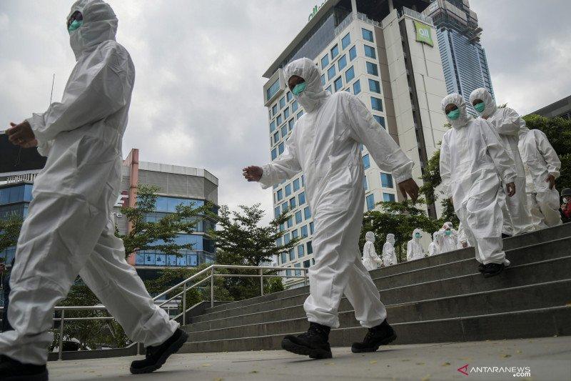 Lonjakan kasus positif COVID-19 di Jakarta jadi rekor baru lagi