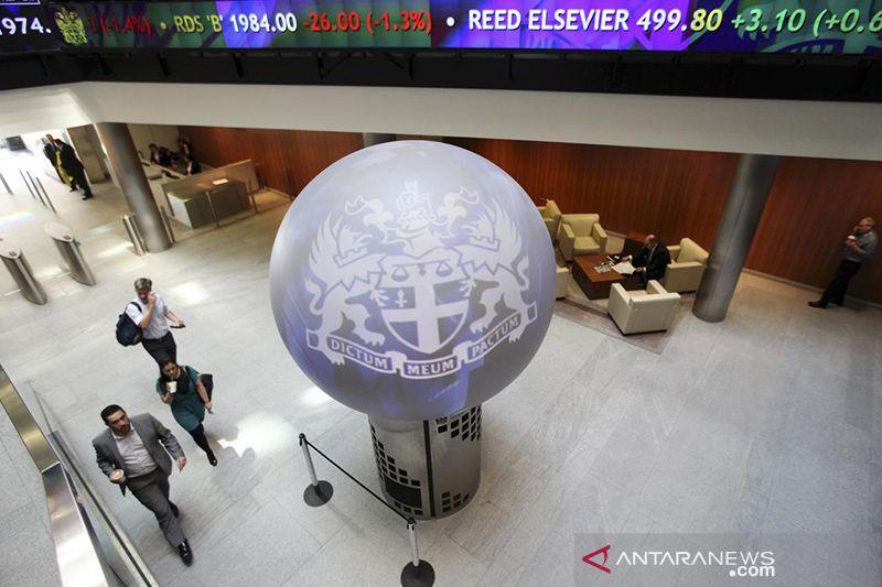 Saham Inggris kembali naik, indeks FTSE 100 terangkat 1,34 persen