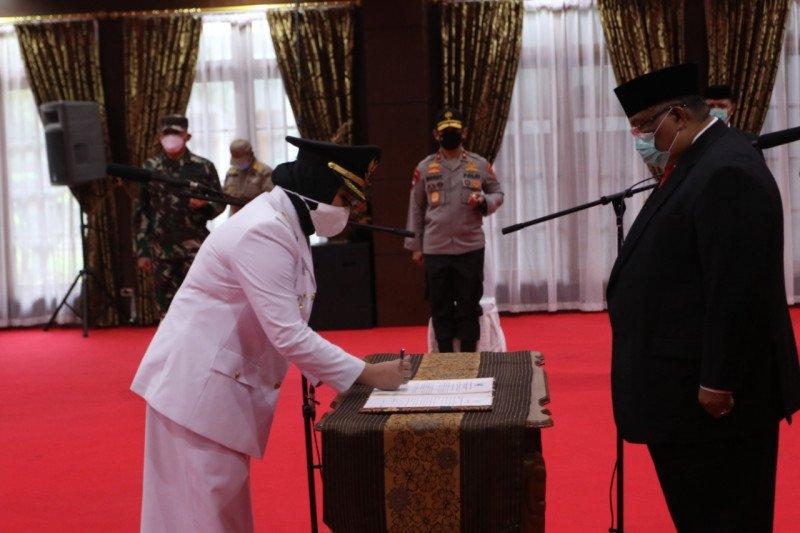 Siska Karina resmi dilantik jadi Wakil Wali Kota Kendari
