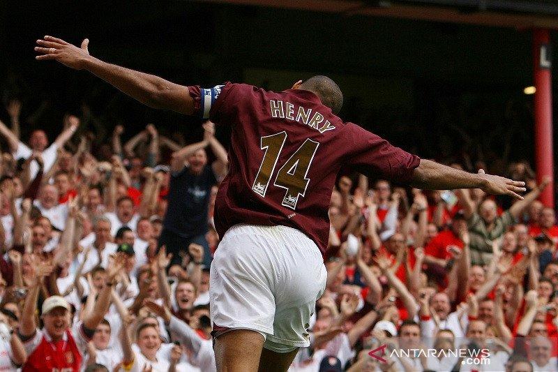 Tiga gol Thierry Henry jadi salam perpisahan
