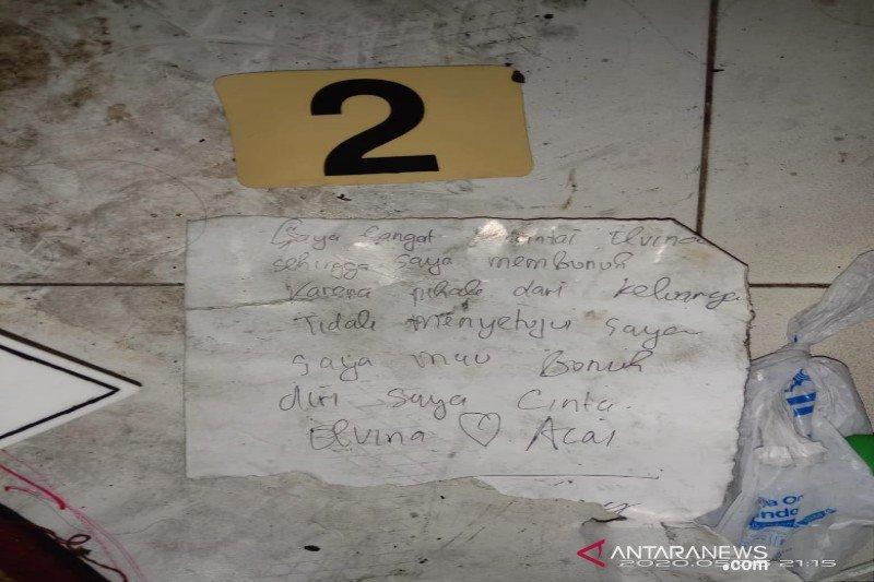 Polisi temukan 'surat cinta' pelaku saat  penemuan mayat dalam kardus