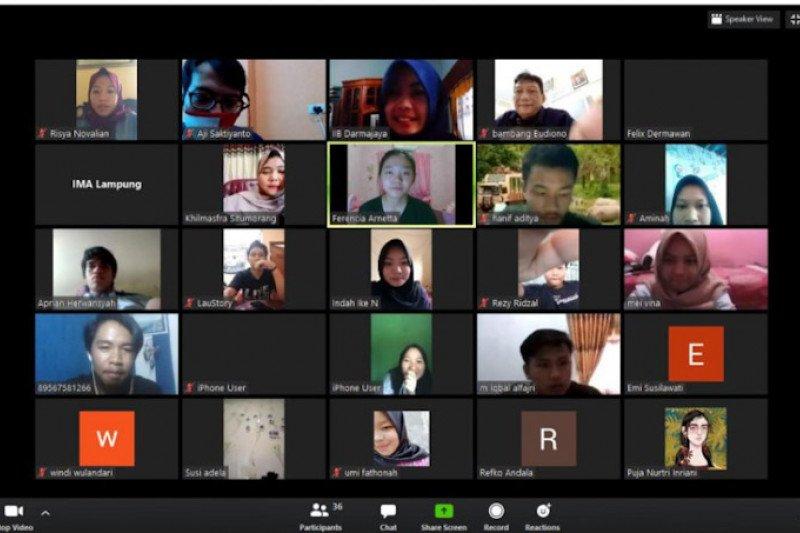 PGN Area Lampung isi kuliah daring mahasiswa Prodi Manajemen IIB Darmajaya