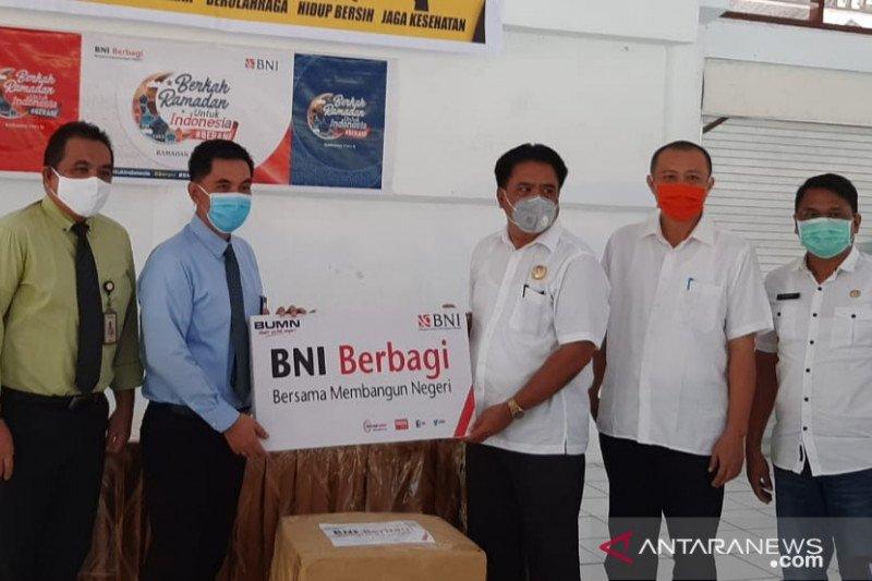 BNI serahkan bantuan APD tenaga medis di wilayah kepulauan